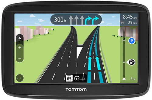 TomTom GPS Navigation Device with Free Lifetime Traffic & Maps
