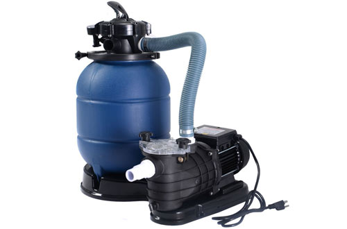 Goplus New Pro 13-Inch Above Ground Pool Pump