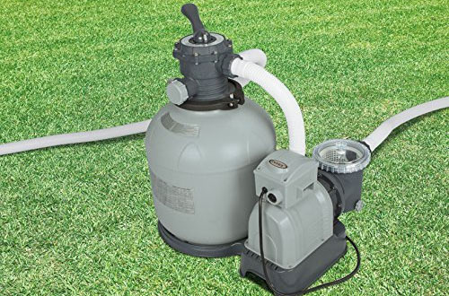 Intex Sand Filter Pump, 3000 Gallon