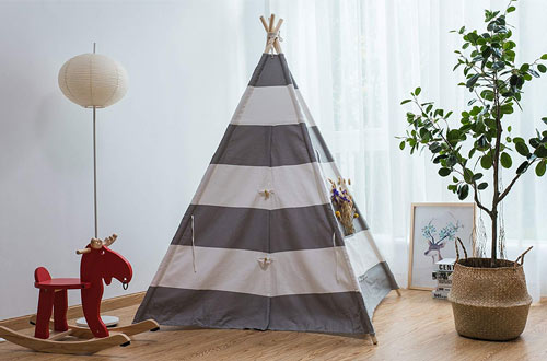 Pericross Indian Kids Teepee Tent & Play Tent for Outdoor and Indoor Play