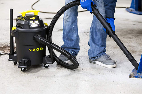 Stanley 6 Gallon Wet/Dry Vacuum - 4 Horsepower