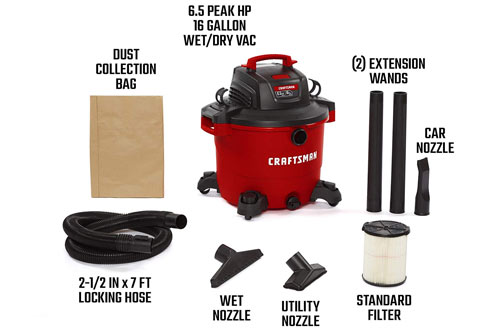 Wet/Dry Vac - Heavy-Duty Shop Vacuum