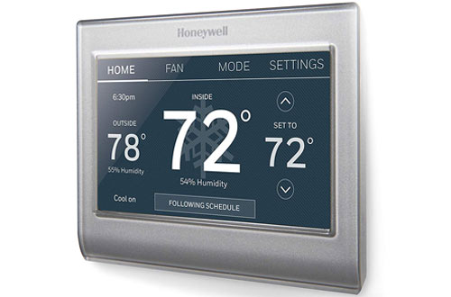 Honeywell Home Wi-Fi Smart Color Programmable Thermostat with Easy Installation