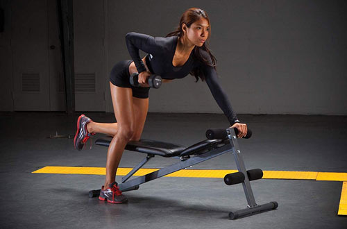 Marcy Flat Exercise Bench for Upright - SB-261W
