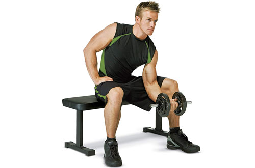 Marcy Weight Bench for Weight Training and Ab Exercises