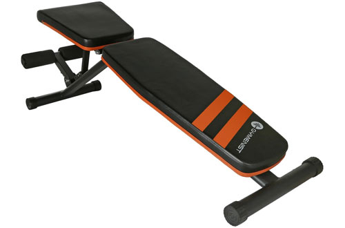 GYMENIST Adjustable Exercise Workout Weight Bench