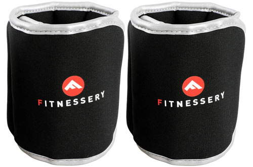 Fitnessery1lb, 2lb, 3lb, 4lb and 5lb Ankle Weight Setsfor Women & Men