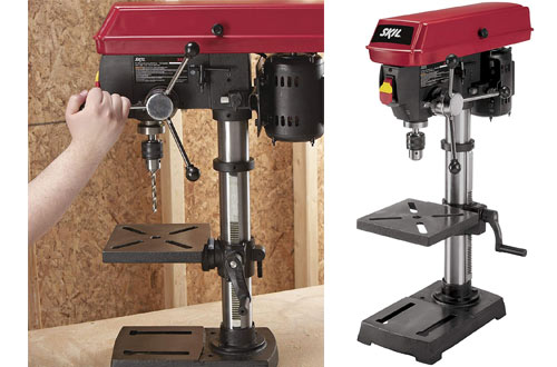 SKIL 3320-01 Electric Cordless Bench Drill Press
