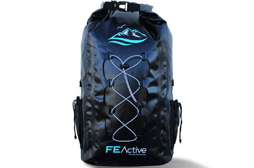 FE Active Outdoor 30L Eco-Friendly Waterproof Dry Bag Backpack