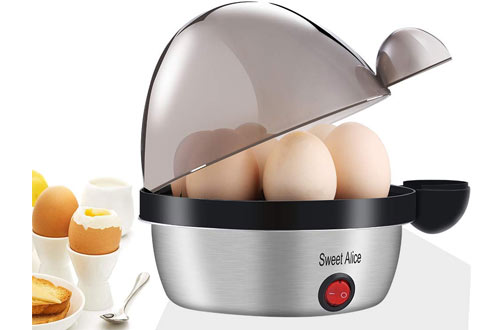 YANX Electric Egg Cooker with 7 Eggs Capacity