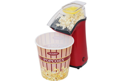 Victorio VKP1162 PopAir Electric Hot Air Popcorn Popper
