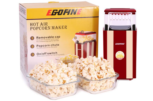 Egofine  1200W Healthy Popcorn Maker Machine