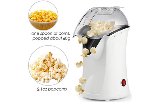 Miageek Electric Popcorn Machine Maker