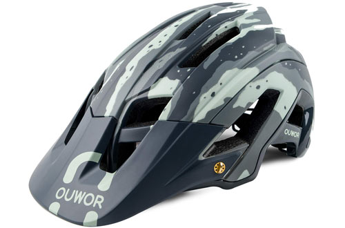 OUWOR Road & Mountain Bike/MTB Helmet