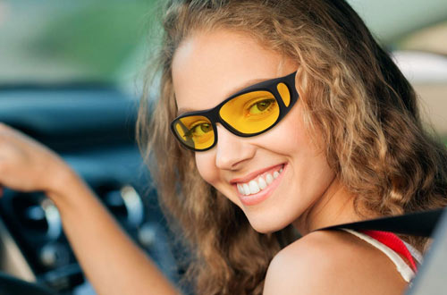 GLTECK HD Night Driving Glasses for Men & Women