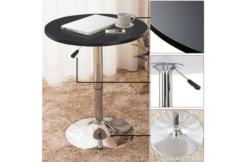 Topeakmart Round Tall Cocktail Tables