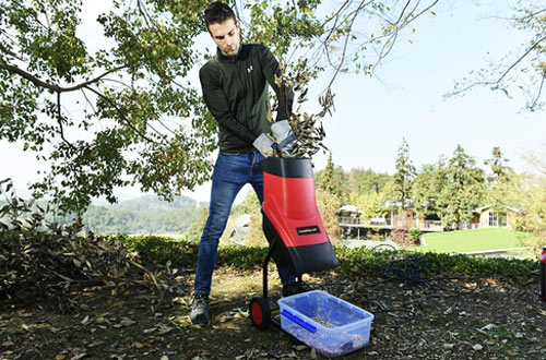 Electric Garden Chipper Shredder