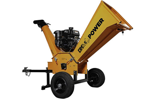 DK2 Power 14HP Gas Powered Chipper Shredder with Kohler Engine