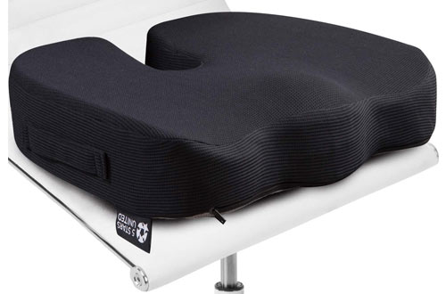 STARS UNITED Memory Foam Seat Cushion Pillow for Office Chair