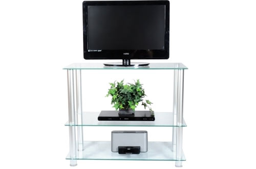RTA Home and Office Tall Glass TV Stands and Plasma TV Stand