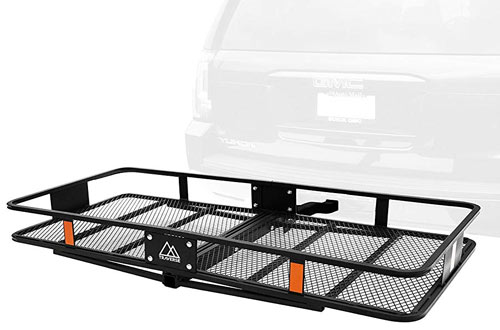 Retrospec Cascade Folding Cargo Rack with Hitch