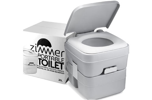 ZIMMER Portable Toilet Camping for Travel, Boating and Trips