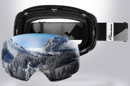 OutdoorMaster Frameless Snow & Ski Goggles for Men & Women