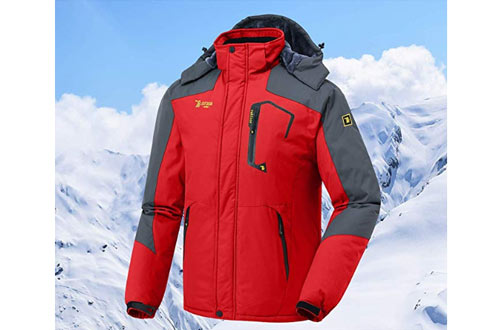 JINSHI Mountain Waterproof Fleece Ski Jackets