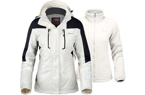 OutdoorMaster Women's Ski Jackets - Winter Jacket Set