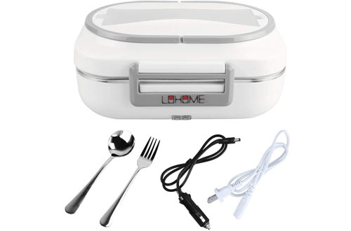 LOHOME Electric Lunch Boxes - Portable Bento Meal Heater