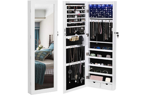 Wall Mounted Jewelry Organizers