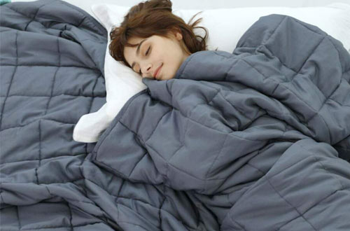 Weighted Idea Cooling NaturalQueen Size WeightedBlankets