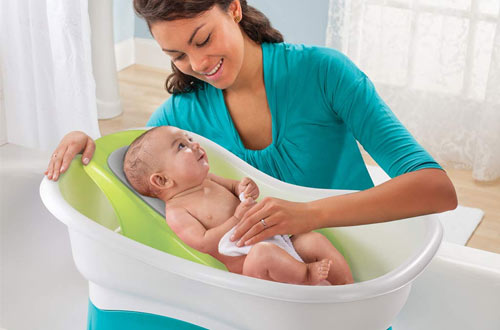 Summer Comfort Height Infant Baby Bath Tubs
