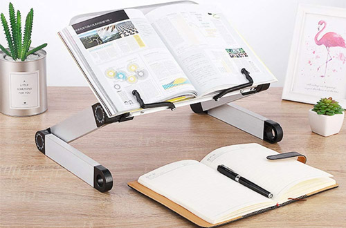 SYITCUNHeight and Angle Adjustable Ergonomic Book Holder Stand