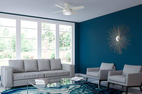 Flush Mount Ceiling Fans