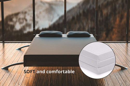 Cozzi Lightweight, Portable Thick Twin Folding Mattresses
