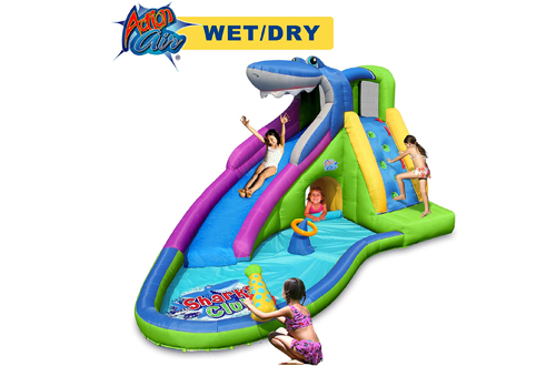 ACTION AIR Kids Inflatable Water Slides - Playground Sets for Backyards