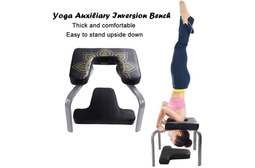 Scool Yoga Headstand Bench for Workout, Fitness and Gym