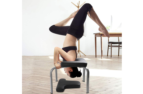 WonderView Yoga Inversion Chair & Yoga Inversion Bench Idea for Workout, Fitness and Gym