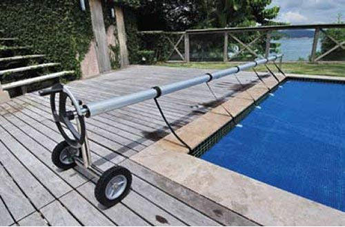 Kokido In-Ground Stainless Steel Pool Cover with Metal Tube Set