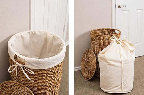Portable Wicker Hampers