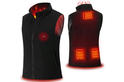 COZIHOMA USB Electric Heated Vests - Adjustable Charging Heating Vest Clothing