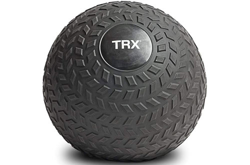 TRX Training Slam Ball Exercises Easy- Grip Tread & Durable Rubber Shell