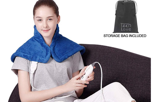 TechLove Electric Heating Pad for Neck and Shoulder