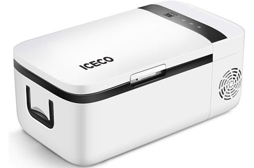 ICECO Portable Refrigerators - Small Car Fridge Freezer with APP Control