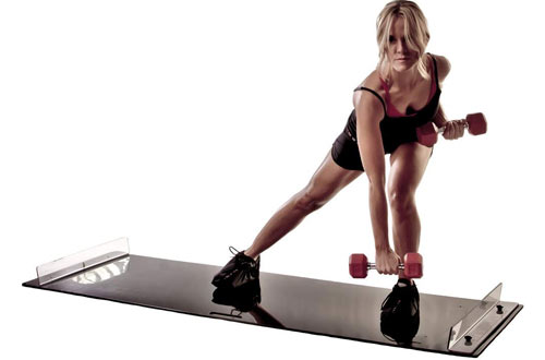 Obsidian Low Impact Exercise Slide Boards for Weight Loss and HIIT