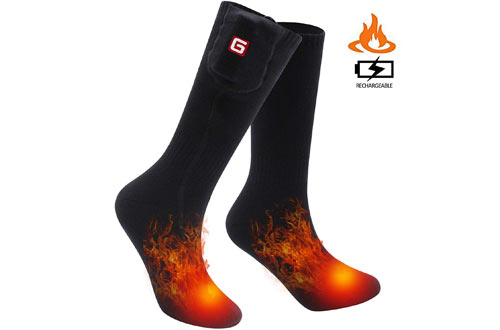 SVPRO Rechargeable Electric Battery Heated Socks