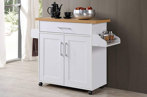 Top 10 Best Rolling Mobile Kitchen Island Carts with Storage ...