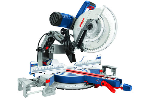 Bosch Power ToolsCorded Dual-Bevel Sliding Miter Saws with Tooth Saw Blade