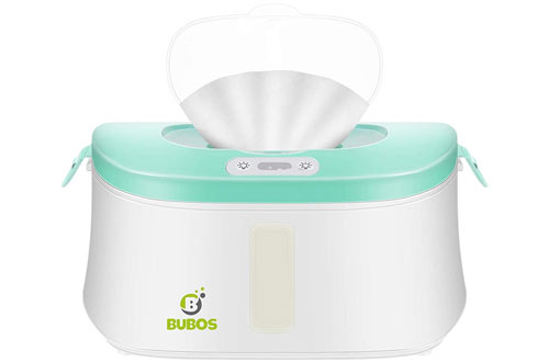 Bubos Wipe Warmers & Wet Wipes Dispenser with Advanced LED Night Light